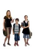 Gosses d'école Image libre de droits