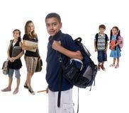 Gosses d'école photo libre de droits