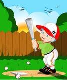 Gosses de base-ball Photos libres de droits