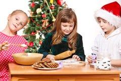 Gosses de Noël Images stock