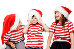 Gosses de Noël Image stock