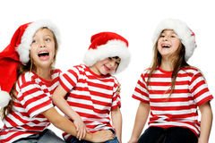 Gosses de Noël Photo stock