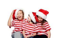 Gosses de Noël Photographie stock