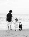 Gosses de plage Photos libres de droits