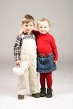 Gosses de sourire #2 Images stock
