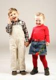 Gosses de sourire #3 Photo stock