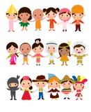 Gosses du monde illustration stock