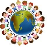 Gosses du monde illustration libre de droits
