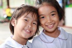Gosses ou enfants de sourire Image stock