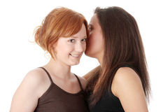 Gossip Royalty Free Stock Images