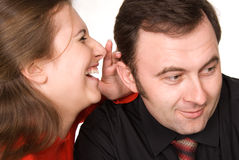 Gossip Royalty Free Stock Photography