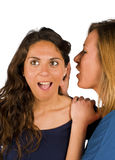 Gossip. An update on the latest, freshest gossip stock photo