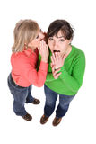 Gossip Royalty Free Stock Photography