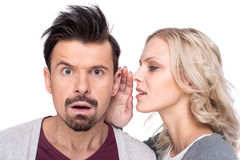 Gossip royalty free stock photo