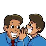 Gossip dell'ufficio royalty illustrazione gratis
