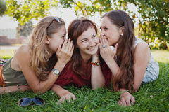 Gossip Royalty Free Stock Photos