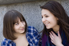 Gossip girl Royalty Free Stock Images