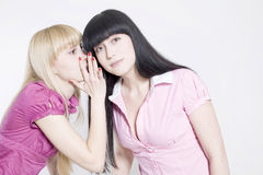 Gossip girls Royalty Free Stock Photos