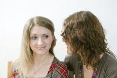 Gossip girls Stock Image