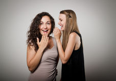 Gossip Royalty Free Stock Photos