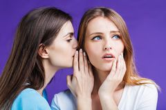 The Gossip Women Stock Photography