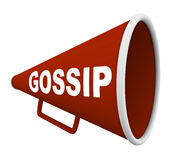 Gossip - Word on Bullhorn Stock Images