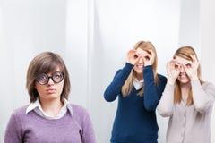 Gossiping подростка Стоковое Изображение RF