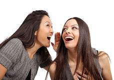 Gossiping Royalty Free Stock Photo