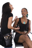 Gossiping girls Royalty Free Stock Photography