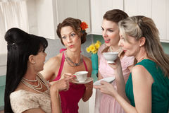 Gossiping Women Stock Photography