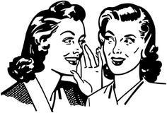 Gossiping Women Royalty Free Stock Photos