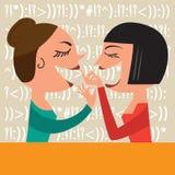 Gossiping Women Stock Photo