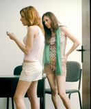 Gossipping στοκ εικόνες