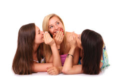 Gosspi girls Royalty Free Stock Photography