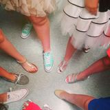 Goste dos pés Imagens de Stock Royalty Free