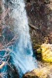 Gostilje vattenfall royaltyfria bilder