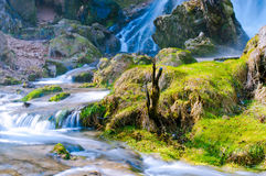 Gostilje vattenfall royaltyfri bild