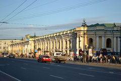 Gostiniy dvor gallery Stock Photo