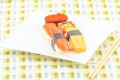 Gosto da culinária do sushi bom Imagem de Stock