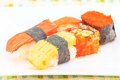 Gosto da culinária do sushi bom Imagens de Stock