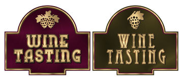 Gosto de vinho Fotografia de Stock Royalty Free