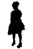 Gosurori Fashion Silhouette with Clipping Path Royalty Free Stock Photos