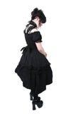 方式gosurori哥特式日本lolita 免版税库存照片