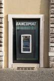 Gotówkowa maszyna w Rzym Obrazy Royalty Free