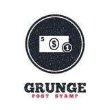 Gotówkowa szyldowa ikona 3d odpłacający się dolarowy ilustracyjny pieniądze symbol moneta Zdjęcie Royalty Free