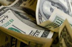 Gotówkowi USA dolary zdjęcia royalty free