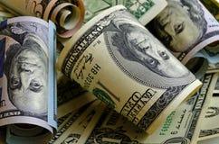 Gotówkowi USA dolary Obraz Royalty Free