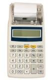 gotówkowy elektroniczny rejestr Obrazy Royalty Free