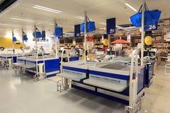 Gotówkowy punkt w supermarketa sklepie zdjęcie royalty free