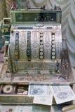 gotówkowy stary rejestr Obrazy Stock